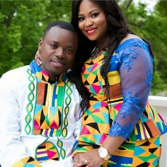 I Do Ghana | Linda + Nana | Kente Wedding