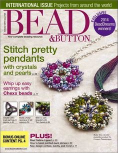 Oct 2014 Nº 123 - lucy bisuteriabb - Picasa Web Albums Beading Patterns Free, Seed Bead Patterns, Jewelry Patterns, Jewelry Ideas, Free Pattern, Beading Projects, Beading Tutorials, Bead And Button, Magazine Beads