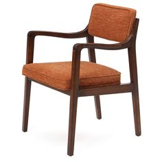 Armchair by Edward Wormley | From a unique collection of antique and modern dining room chairs at https://www.1stdibs.com/furniture/seating/dining-room-chairs/