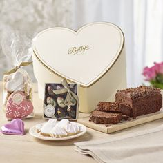 With Love On Mother's Day Gift Box | £35.00 | A heart-shaped box filled with our most irresistible and indulgent creations.