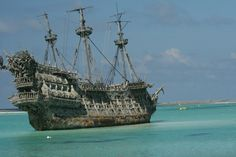 """The Whydah, which sunk in 1717,  is the only pirate ship that's ever been found. A former slave ship, it was the flagship of the infamous """"Black Sam"""" Bellamy.  Discovered by Barry Clifford in 1984, its treasures are still being recovered. More than 200K artifacts (cannons, coins, gold jewelry, & the ship's bell) have been brought to the surface."""