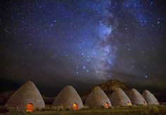 Awesome Stary Night.  Ward Charcoal Ovens , Nevada.