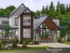 Norbert house by Rirann - Sims 3 Downloads CC Caboodle