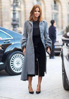20 ide për veshje zyre Chic dhe trendy në dimër