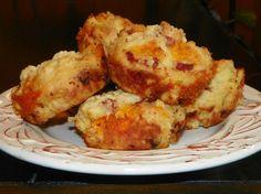Ham and Cheddar Muffins