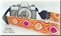 Kameraband / Kameragurt retro von Blinni-Fashion auf DaWanda.com