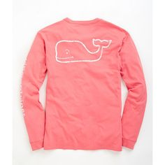 Shop Long-Sleeve Vintage Graphic T-Shirt at vineyard vines ($42) ❤ liked on Polyvore featuring tops, t-shirts, vineyard vines t shirt, pocket tees, long sleeve tee, vintage t shirts and graphic tees