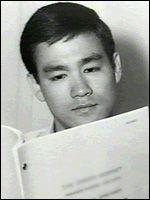 A rare photo of Bruce Lee.