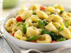 Barilla® Three Cheese Tortellini  Vegetable Primavera Recipe. #pastarecipes #cheesetortellini #pastaprimavera
