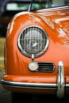 Porsche looking sweet in orange.