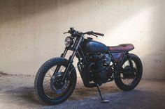 Cafe Racer Pasión — Awesome! Honda CB550 Brat Style by Federal Moto...