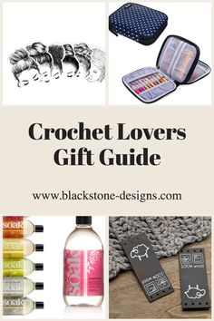 Over 200 items in the Crochet Lovers Gift Guide! Tools and novelties included! #crochet #crochetlover #giftguide #christmasgifts #giftideas #giftsforher #giftsforher
