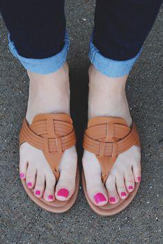 Camel Slip-on V-cut Woven Detail Sandal Archer-110 – UOIOnline.com: Women's Clothing Boutique