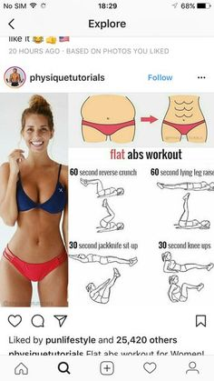 wie man Bauchfett 7815912228 los wird Best Picture For Daily Workout and diet For Your Taste You are looking for something, and it is going to Abs On Fire Workout, Gym Workout Tips, Six Pack Abs Workout, Fitness Workout For Women, Waist Workout, Fitness Routines, Ab Workouts, Body Fitness, Butt Workout