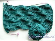 Baby Knitting Patterns Cowl beautiful stitch pattern (free) - Winding River Cowl from Knitting Daily. Knitting Daily, Loom Knitting, Knitting Stitches, Knitting Patterns Free, Knit Patterns, Free Knitting, Stitch Patterns, Free Pattern, Finger Knitting