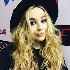 """""""@SabrinaCarpenter is major hair #goals! Catch her performing #SmokeAndFire at 4pm PST on @go90. #SabrinaCarpenter"""""""