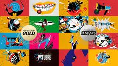 """2013. """"SOL Música"""". Channel branding.  We have found ourselves doing TV channel branding almost exclusively in 2013. Last December we pitched and won not one or two, but four channel rebrandings for Spain's Chello Multicanal!  Sol Música is the first and only channel to specialize in Spanish Music.    For this channel, we not only produced an identity design package but also packaged all domestic production programs. To top it all off, we did it all in traditional animation.   Stay tuned…"""