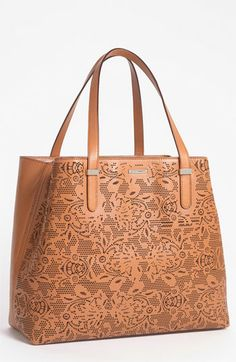 Rebecca Minkoff 'Lasercut Perfection' Leather Tote available at #Nordstrom