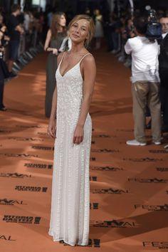 Charlotte Vega as Tatiana from the bronze horseman Vegas, Top Female Celebrities, Glamorous Dresses, Club, Bridal Wedding Dresses, Boho Bride, Dream Dress, Ball Gowns, Fashion Show