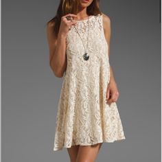 Free People lace dress. Perfect for any occasion! Free People lace dress. Size small. Make an offer! Free People Dresses Mini