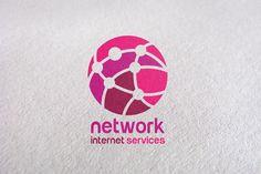 Tech / Network / Internet / Connect ~ Logo Templates on Creative ...