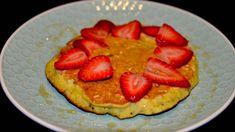 Pancake de banano, harina de arroz y avena