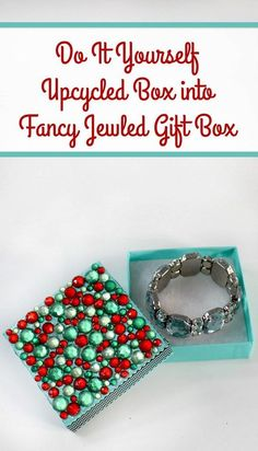 I love giving my friends unique DIY holiday gifts! This is such a cool Christmas homemade gift idea. It would be cool with a piece of handmade jewelry, or just to make a store-bought gift a little more special, don't you think?