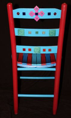 Mexican Folk Art Inspired Painted Furniture