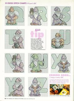 Gallery.ru / Фото #59 - The world of cross stitching 063 октябрь 2002 - WhiteAngel