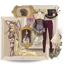 Steampunk Rapunzel inspiration