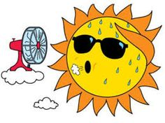 Cool the summer – Beat the Heat Everyone likes a cool home to relax during the hot summer months. With a little effort you can help your interiors to be more cool and refreshing on a hot summer day. Smiley Emoticon, Emoticon Faces, Stickers Emojis, Funny Emoticons, Emoji Symbols, Summer Clipart, Emoji Images, Beat The Heat, Good Morning Quotes
