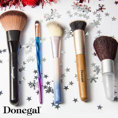 A jaki jest Twój ulubiony pędzel do makijażu? #donegal #brush #make-up #makeup #makijaż #pędzle #zestaw #blush #eyeliner #kabuki #puder