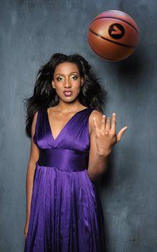 WNBA player Candice Wiggins