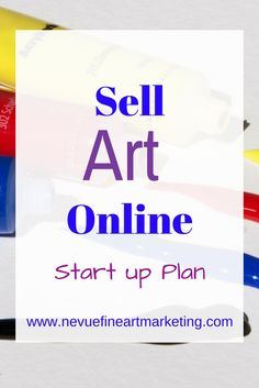 Discover everything you need know to get your online art business started, so you can start selling your art today.