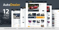 Review Auto Dealer - Car Dealer PSD TemplateIn our offer link above you will see