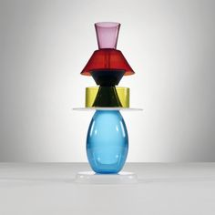 Ettore Sottsass / aristea vase