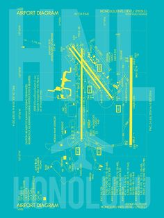 HNL Honolulu Airport Diagram