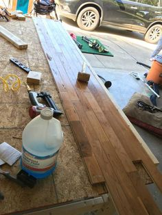 Post with 256943 views. I built a mobile workbench Simple Workbench Plans, Garage Workbench Plans, Table Saw Workbench, Workbench Designs, Mobile Workbench, Woodworking Bench Plans, Woodworking Workbench, Woodworking Shop, Woodworking Crafts
