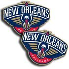 """For Sale - New Orleans Pelicans Stickers  NBA  decals (2 Pack) 3""""and more sizes - http://sprtz.us/PelicansEBay"""