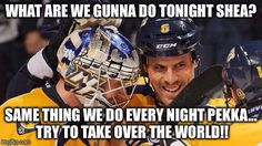 Poor Pekka.... He's going to have to plot to take over the world with someone else.... I wonder if Josi is free for the position..... XD