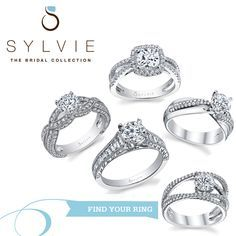 Sylvie Collection is an online jewelry shop that deals with original, high quality split-shank diamond engagement rings.