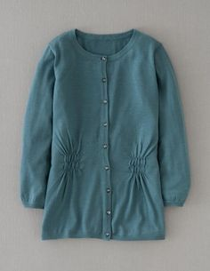 boden, Pretty Merino Cardigan, 100% merino wool, 6 solids, $88.