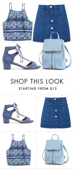 """""""Untitled #297"""" by farrahaqs on Polyvore featuring Tabitha Simmons and Miss Selfridge"""
