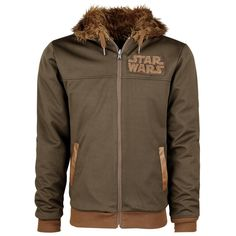 "Star Wars Hooded zip ""Chewbacca - Reversible Hoodie"" multicolour • Now available • EMP"