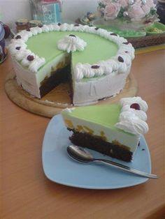 Galaretkova torta, recepty, Torty   Tortyodmamy.sk Cake Recipes To Impress, Torte Cake, Russian Recipes, Desert Recipes, Jello, Cheesecakes, Mousse, Fondant, Tiramisu