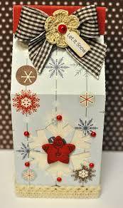 christmas mini milk carton box - Cerca con Google