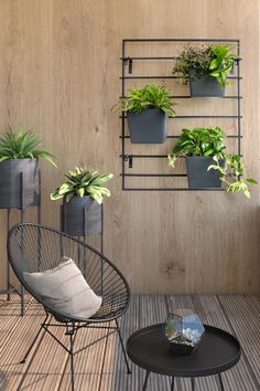 Enjoy plants in your outdoor living space on balconies and terraces without taking up valuable floor space!  Ideal for small-space urban living, the modern lines of the MODliv vertical planting system complements your home décor.    MODliv vertical planting system is ideal for covered outdoor spaces such as balconies or porches!  A modern, functional solution for small-space living! Modern Planting, Vertical Planting, Small Space Living, Small Spaces, Living Spaces, Outdoor Spaces, Outdoor Living, Terraces, Floor Space