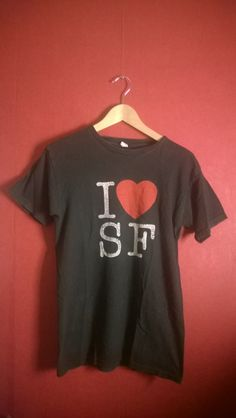 Vintage90s tshirt  Logo Print T shirt VINTAGE 90s T shirt i love Sf t shirt I love Finland T shirt washed black VINTAGE t shirtM by VirtageVintage on Etsy