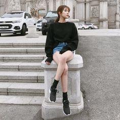 ♡英文字テープショートデニムパンツ♡ #レディースファッション #ファッション通販 #ファッショントレンド #新作 #最新 #モテ服 #韓国ファッション #韓国レディース通販 #ootd #wiw #fashionaddict #womensfashion #fashion https://goo.gl/KhQ8bY