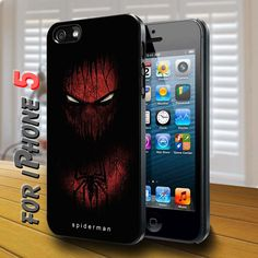 spiderman art Black Case for iphone 5